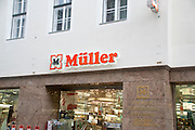 Muller perfumery and nature store Photographed in Krems, Austria