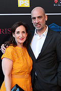 April 8, 2019-New York, New York-United States: (L-R) Amy Goldrich and Nick Kline, Artist, Founder/ Director, Shine Portrait Studio, Associate Professor of Photography Rutgers University attend the Bronx Museum Gala & Art Auction 2019 held at Capitale on April 8, 2019 in New York City. The Bronx Museum of the Arts is a contemporary art museum that connects diverse audiences to the urban experience through its permanent collection, special exhibitions, and education programs that strive to reflect the boroug h's dynamic communities. (Photo by Terrence Jennings/terrencejennings.com)