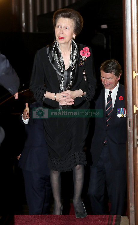 The Princess Royal attends the annual Royal British Legion Festival of Remembrance at the Royal Albert Hall in Kensington, London.