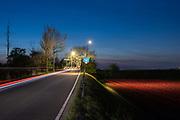 Dutch landcape in late evening