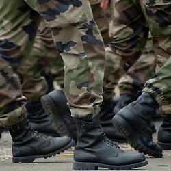 Les répétitions du défilé des troupes à pied ont eu lieu les jours qui ont précédé la fête nationale au camp de Satory (78). Organisées en demi-journées, elles permettent aux unités de se familiariser avec les nombreuses contraintes qu'elles auront le jour J sur les champs Elysées: timing, tenue, marche au pas cadencé... sous la surveillance du représentant du Gouverneur Militaire de Paris en charge de l'organisation du défilé.<br /> Juillet 2011 / Camp de Satory / Yvelines (78) / FRANCE<br /> Cliquez ci-dessous pour voir le reportage complet (77 photos) en accès réservé<br /> http://sandrachenugodefroy.photoshelter.com/gallery/2011-07-Repetitions-du-defile-a-pied-du-14-juillet-2011-Complet/G00009JVWu2cPjnE/C0000yuz5WpdBLSQ