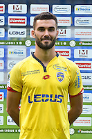 Florent Ogier of Sochaux during the FC Sochaux photocall for the season 2016/2017 in Sochaux on September 20th 2016<br /> Photo : Philippe Le Brech / Icon Sport