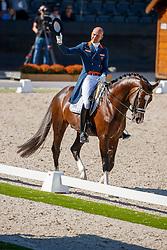 Minderhoud Hans Peter, NED, Invictus<br /> Nederlands Kampioenschap dressuur<br /> Ermelo 2020<br /> © Hippo Foto - Sharon Vandeput<br /> 20/09/2020