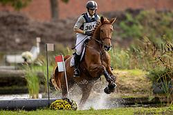 Dierickx Wouter, BEL, Oreilles Rouges De Tamise<br /> LRV Eventing Merksplas 2020<br /> © Hippo Foto - Dirk Caremans<br /> 10/10/2020