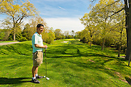 Town of Oyster Bay Golf Course and The Woodlands at Woodbury restaurant and catering hall, Woodbury, New York, on May 11, 2014.  Public golf course on Long Island's Gold Coast, mid Spring, Mother's Day.
