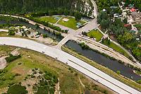 Vivian Park on the  Provo River in Provo Canyon