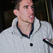 NLD/Noordwijk/20110207 - Aankomst Nederlands elftal in hotel voor oefeninterland Nederland - Oostenrijk, Kevin Strootman