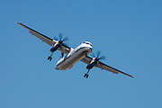 Horizon Airline flyby in a Dash 8 at the Oregon International Airshow.