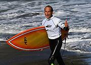 Ken Nicholson. Over 60 mens.<br /> Surfing New Zealand National Championships 2021. Piha Beach, Auckland, New Zealand. Tuesday 12 January 2021.<br /> © image by Andrew Cornaga / www.Photosport.nz