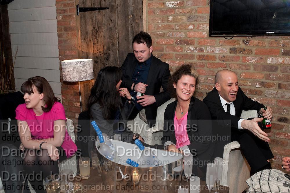 ALEXANDRA ROACH; JONATHAN BAILEY; SARAH GRIGGS; EMILY GERMAN; JAMES READ, InStyle Best Of British Talent , Shoreditch House, Ebor Street, London, E1 6AW, 26 January 2011
