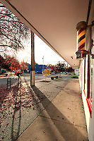 Haultain Corners is an old-style neighborhood service area, with a grocery store, barber, and useful stores.