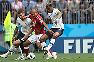 Presnel Kimpembe of France during the 2018 FIFA World Cup Russia, Group C football match between Denmark and France on June 26, 2018 at Luzhniki Stadium in Moscow, Russia- Photo Tarso Sarraf / FramePhoto / ProSportsImages / DPPI