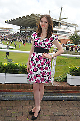 SOPHIE ELLIS-BEXTOR at the 3rd day of the 2012 Glorious Goodwood racing festival at Goodwood Racecourse, West Sussex on 2nd August 2012.