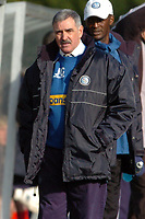 Photo: Leigh Quinnell.<br /> Wycombe Wanderers v Shrewsbury Town. Coca Cola League 2. 11/03/2006. Wycombe manager John Gorman looks on.