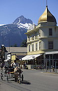 Skagway, Alaska, (editorial use only, no model release)<br />