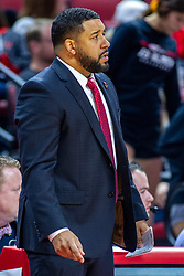 NORMAL, IL - November 10: Marcus Belcher during a college basketball game between the ISU Redbirds and the Little Rock Trojans on November 10 2019 at Redbird Arena in Normal, IL. (Photo by Alan Look)