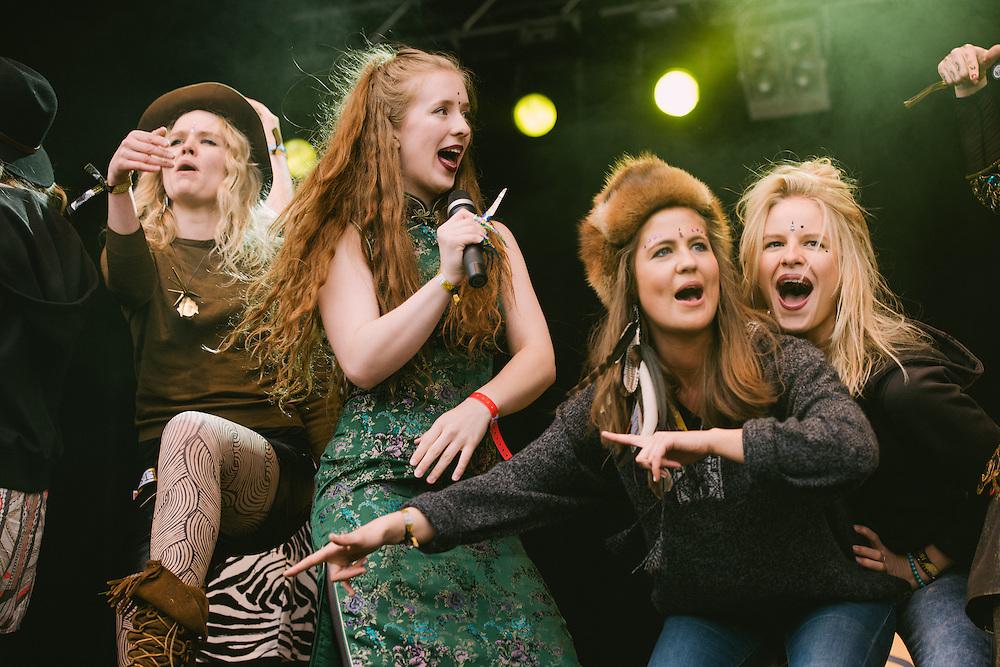 Photos of Reykjavíkurdætur performing live at Secret Solstice Music Festival 2014 in Reykjavík, Iceland. June 21, 2014. Copyright © 2014 Matthew Eisman. All Rights Reserved