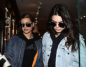 Kendall and Hailey Out In NY