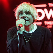 Tim Burgess of The Charlatans performs at the Howard Theatre in Washington, D.C.