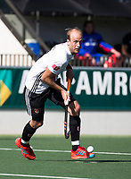 AMSTELVEEN  - Hockey -  1e wedstrijd halve finale Play Offs dames.  Amsterdam-Bloemendaal (5-5), Bl'daal wint na shoot outs. Billy Bakker (A'dam).   COPYRIGHT KOEN SUYK