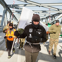 Gary Allen runs 500 miles from Maine to the Super Bowl raising money for Wounded Warriors
