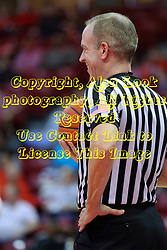 29 January 2017: Brad Maxey during an College Missouri Valley Conference Women's Basketball game between Illinois State University Redbirds the Salukis of Southern Illinois at Redbird Arena in Normal Illinois.