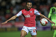 Grant Ward (Rotherham United) during the Sky Bet Championship match between Rotherham United and Huddersfield Town at the New York Stadium, Rotherham, England on 19 April 2016. Photo by Mark P Doherty.