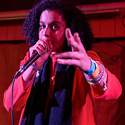 WASHINGTON, DC - February 3rd, 2019 - Sneaks performs at Songbyrd Cafe in Washington, D.C. Her latest album, Highway Hypnosis, was released last month on Merge Records. (Photo by Kyle Gustafson / For The Washington Post)