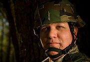 Master Sgt. Stewart Shackelford, 437th Security Forces, poses for a portrait at Charleston Charleston Air Force Base, S.C., on Oct. 30, 2008.