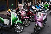Bangkok, Thailand, motorcycle rental
