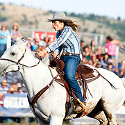 Sheena Berry at the Darby Broncs N Bulls event Sept 7th 2019.  Photo by Josh Homer/Burning Ember Photography.  Photo credit must be given on all uses.