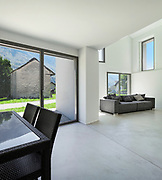 architecture, interior modern house, wide living room
