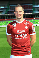 Kevin Lejeune poses for a portrait during the Metz squad photo call for the 2016-2017 Ligue 1 season on September 15, 2016 in Metz, France<br /> Photo : Fred Marvaux / Icon Sport