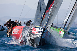 © Sander van der Borch. Alicante - Spain, May 13th 2009. AUDI MEDCUP in Marseille (12/17 May 2009). Race 2,3 and 4. Emirates Team New Zealand.