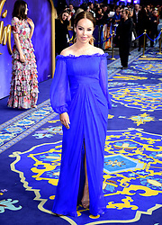 Katie Piper attending the Aladdin European Premiere held at the Odeon Luxe Leicester Square, London.