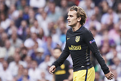 May 2, 2017 - Madrid, Spain - Antoine Griezmann (forward; Atletico Madrid) watched the Champions League, semifinal match between Real Madrid and Atletico de Madrid at Santiago Bernabeu Stadium on May 2, 2017 in Madrid, Spain (Credit Image: © Jack Abuin via ZUMA Wire)