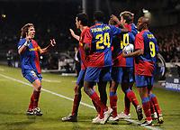 Fotball<br /> Frankrike<br /> Foto: DPPI/Digitalsport<br /> NORWAY ONLY<br /> <br /> FOOTBALL - CHAMPIONS LEAGUE 2008/2009 - 1/8 FINAL - 1ST LEG - 24/02/2009 - OLYMPIQUE LYONNAIS v FC BARCELONA - JOY BARCELONA<br /> <br /> Lyon