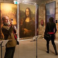 Exhibition to discover the artistic work of Leonardo Da Vinci, Budapest, Hungary. Thursday, 05. February 2009. ATTILA VOLGYI