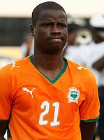 Photo: Steve Bond/Richard Lane Photography.<br />Ivory Coast v Benin. Africa Cup of Nations. 25/01/2008. Emmanuel Eboue of Ivory Coast & Arsenal