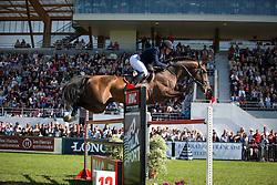 Philippaerts Olivier (BEL) - Armstrong vd Kapel <br /> Longines Jumping International La Baule 2014<br /> © Hippo Foto - Dirk Caremans