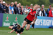 IRB Womens Rugby world cup, day 1 at Surrey university in Guildford.  Canada v Scotland