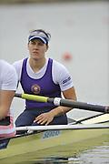 Eton, United Kingdom. GBR W2- Bow, Jess EDDIE, 2012 GB Rowing Senior Trials, Dorney Lake. Nr Windsor, Berks.  Saturday  10/03/2012  [Mandatory Credit; Peter Spurrier/Intersport-images]