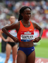 July 22, 2018 - London, United Kingdom - Yuneysi Santiusti of Italy Compete in the 800m Women during the Muller Anniversary Games IAAF Diamond League Day Two at The London Stadium on July 22, 2018 in London, England. (Credit Image: © Action Foto Sport/NurPhoto via ZUMA Press)