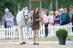Kirsty Short (GBR) & Cossan Lad - First Horse Inspection - CCI4* - Luhmuhlen 2016 - Salzhausen, Lower Saxony, Germany - 15 June 2016