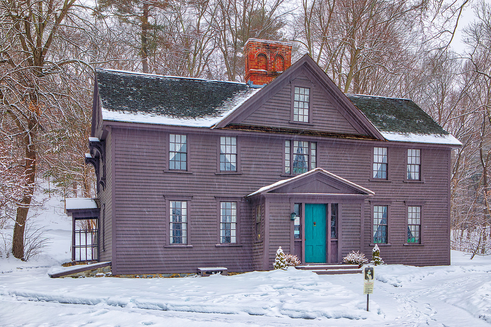 Country winter landscape photography of the beautiful historic Louisa May Alcott's Orchard House in Concord, Massachusetts.<br /> <br /> Road Trip New England country photography images of the Louisa May Alcott's Orchard House are available as museum quality photo, canvas, acrylic, wood or metal prints. Wall art prints may be framed and matted to the individual liking and interior design decoration needs:<br /> <br /> https://juergen-roth.pixels.com/featured/louisa-may-alcotts-orchard-house-juergen-roth.html<br /> <br /> Good light and happy photo making!<br /> <br /> My best,<br /> <br /> Juergen