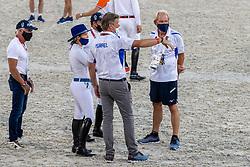 Bond Ashlee, ISR, Dubbeldam Jeroen, NED, Horn Hans, NED, Michan Alberto, ISR<br /> Olympic Games Tokyo 2021<br /> © Hippo Foto - Dirk Caremans<br /> 06/08/2021