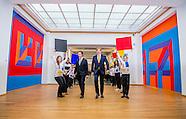 Willem alexander opent zaterdag 11 februari 2017 de tentoonstelling 'Piet Mondriaan en Bart van der