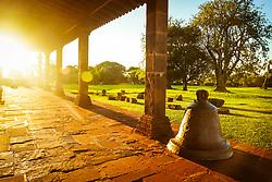 Construido no século XVIII, entre 1735 e 1745, o sítio Arqueológico de São Miguel Arcanjo é um conjunto de ruínas da antiga redução de São Miguel Ancanjo, integrante dos chamados Sete Povos das Missões, e um dos principais vestígios do período das Missões Jesuíticas dos Guarani em todo o mundo. Comumente chamado de ruínas de São Miguel das Missões, é considerado Patrimônio Mundial pelo UNESCO. FOTO: Jefferson Bernardes/ Agência Preview