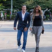 NLD/Amsterdam/20130714 - AFW 2013 Zomer, modeshow Tony Cohen inloop, Glennis Grace en Salvatore Totti