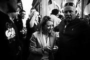 Giorgia Meloni durante la manifestazione di chiusura della campagna elettorale di Fratelli D'Italia in occasione delle Elezioni Europee, Roma 21 Maggio 2014.  Christian Mantuano / OneShot